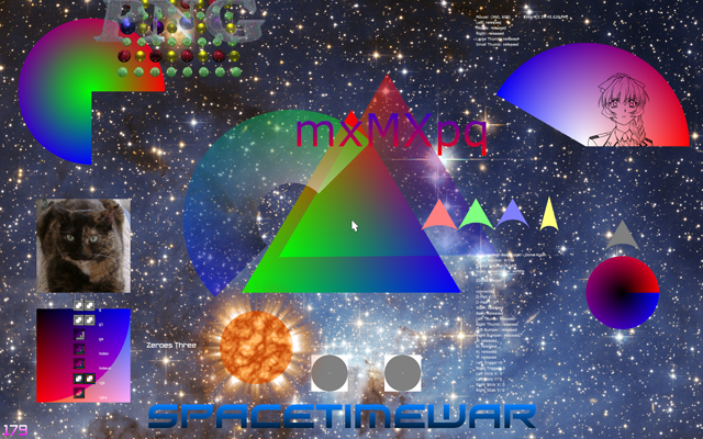 Spacetimewar Renderer (With Background)