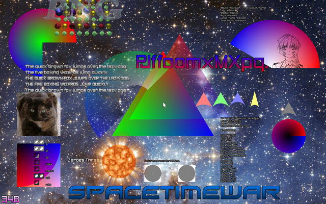 Spacetimewar's Gradient Colored Text