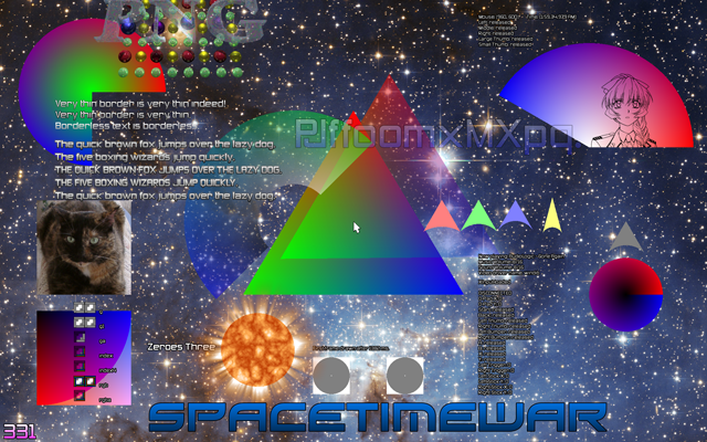 Spacetimewar's Advanced Text Rendering