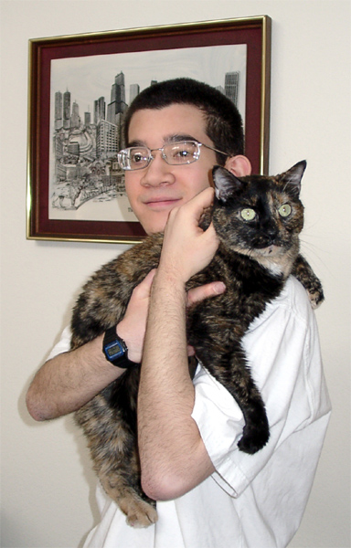 Stephan And Peppermint, September 2003